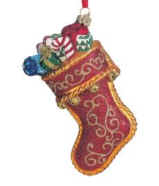 Stuffed Christmas Stocking
